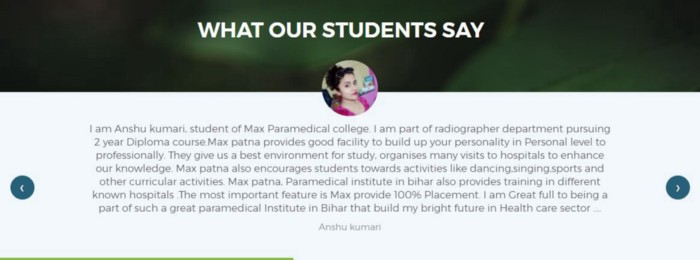 max-institute-of-health-science-technology-student-review